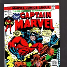 Cómics: CAPTAIN MARVEL 35 - MARVEL 1974 VFN. Lote 179310640