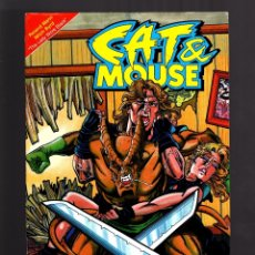 Cómics: CAT AND MOUSE 3 - AIRCEL 1990 VFN. Lote 179312996
