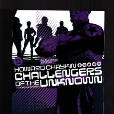 Cómics: CHALLENGERS OF THE UNKNOWN 3 - DC 2004 VFN/NM / HOWARD CHAYKIN. Lote 179315311