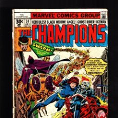 Cómics: CHAMPIONS 14 - MARVEL 1977 VG- / MANTLO & BYRNE . Lote 179316537
