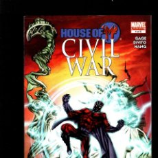 Cómics: CIVIL WAR HOUSE OF M 4 - MARVEL 2009 FN/VFN. Lote 179318415