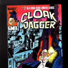 Cómics: CLOAK AND DAGGER 2 - MARVEL 1983 VFN / PRIMERA LIMITED SERIE / MANTLO & RICK LEONARDI. Lote 179321636