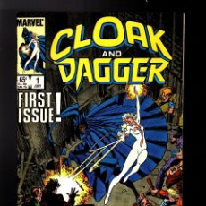 Cómics: CLOAK AND DAGGER 1 - MARVEL 1985 VFN+ / BILL MANTLO & RICK LEONARDI. Lote 179322157