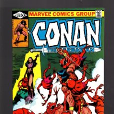 Cómics: CONAN THE BARBARIAN 123 - MARVEL 1981 VFN - JM DEMATTEIS & JOHN BUSCEMA. Lote 179381230