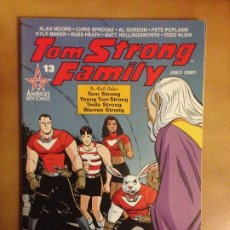 Cómics: COMIC USA TOM STRONG FAMILY # 13 ALAN MOORE & CHRIS SPROUSE 2001 AMERICA'S BEST COMICS WILDSTORM . Lote 179549120