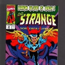 Cómics: DOCTOR STRANGE SORCERER SUPREME 29 - MARVEL 1991 VFN/NM. Lote 180008902