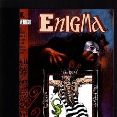 Cómics: ENIGMA 1 - DC VERTIGO 1993 VFN/NM. Lote 180013120
