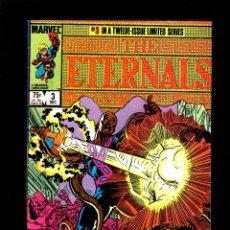 Cómics: ETERNALS 3 - MARVEL 1985 VFN- . Lote 180051795
