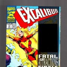 Cómics: EXCALIBUR 71 - MARVEL 1993 VFN/NM / NIGHTCRAWLER HOLOGRAM COVER. Lote 210437140