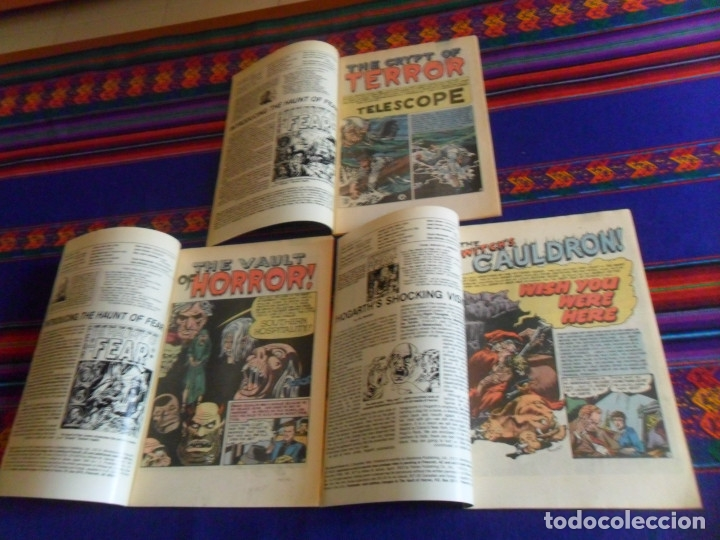 Cómics: THE VAULT OF HORROR 3 4 5 Y TALES FROM THE CRYPT 5. EC COMIC 1990 REGALO CREEPY 54 EN INGLÉS DRACULA - Foto 3 - 180188057
