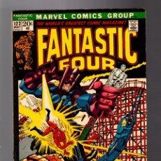 Cómics: FANTASTIC FOUR 122 - MARVEL 1972 FN / STAN LEE & JOHN BUSCEMA / SILVER SURFER / GALACTUS. Lote 180315795