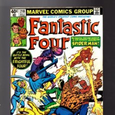 Cómics: FANTASTIC FOUR 218 - MARVEL 1980 FN+ / BILL MANTLO & JOHN BYRNE / AMAZING SPIDER-MAN. Lote 180319536
