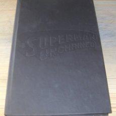 Cómics: SUPERMAN UNCHAINED COMIC HARDCOVER EN INGLES TAPA DURA SIN PORTADA JIM LEE. Lote 180338237