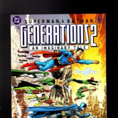 Cómics: GENERATIONS II SUPERMAN & BATMAN 1 2 3 4 COMPLETA - DC 2001 NM PRESTIGE / JOHN BYRNE. Lote 180488917