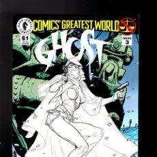 Cómics: GHOST COMICS GREATEST WORLD - DARK HORSE 1993 VFN/NM / ADAM HUGHES. Lote 180493016