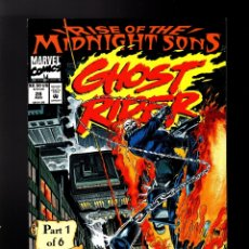 Cómics: GHOST RIDER 28 - MARVEL 1992 VFN/NM / RISE OF THE MIDNIGHT SONS / 1ST LILITH. Lote 180495112