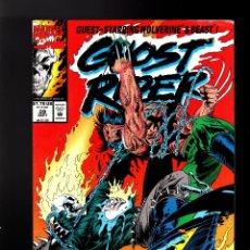 Cómics: GHOST RIDER 29 - MARVEL 1992 VG / VS WOLVERINE. Lote 180495406