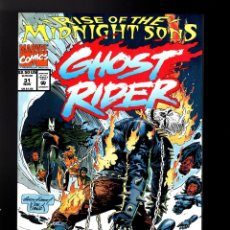 Cómics: GHOST RIDER 31 - MARVEL 1992 VG / RISE OF THE MIDNIGHT SONS. Lote 180495610