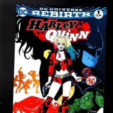 Cómics: HARLEY QUINN 1 - DC 2016 REBIRTH VFN. Lote 180504630