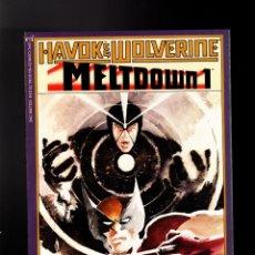 Cómics: HAVOK AND WOLVERINE MELTDOWN 1 2 3 4 COMPLETA - MARVEL 1989 VFN/NM PRESTIGE / SIMONSON & MUTH. Lote 180504957
