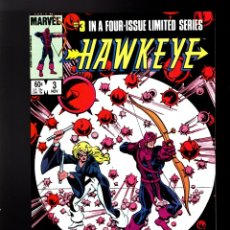 Cómics: HAWKEYE 3 - MARVEL 1983 VFN+. Lote 180505463