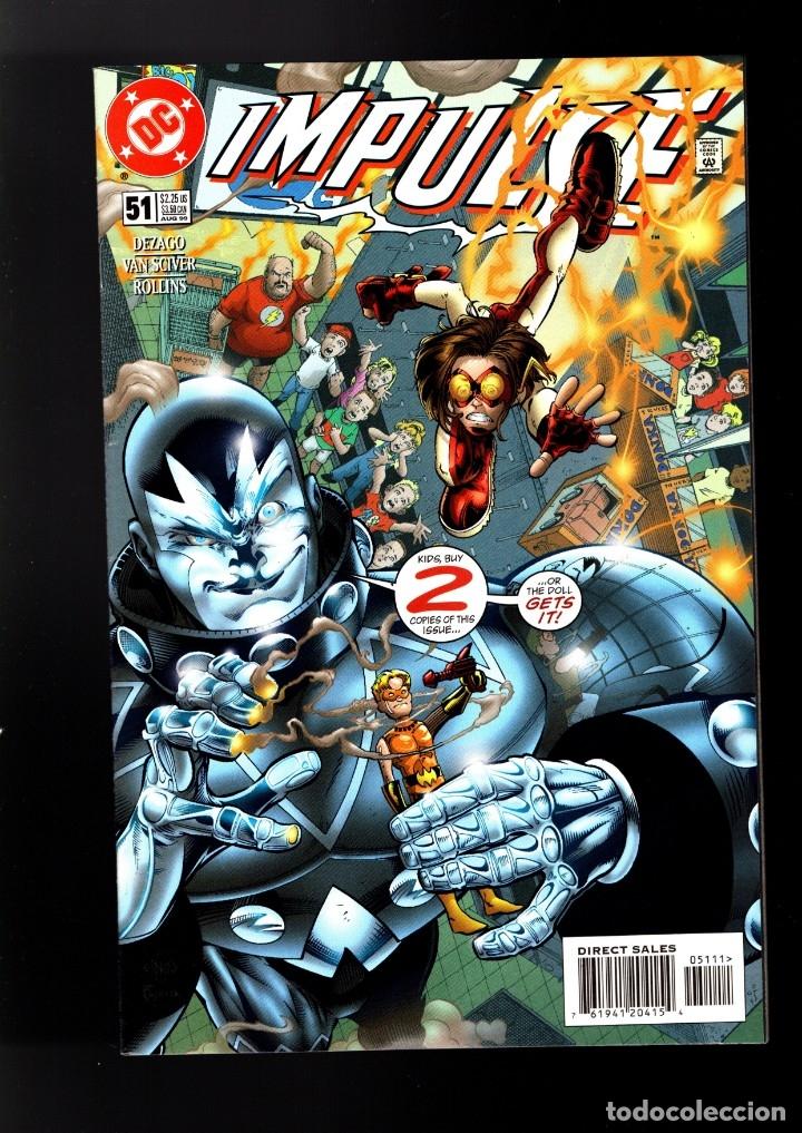 IMPULSE 51 - DC 1998 VFN+ (Tebeos y Comics - Comics Lengua Extranjera - Comics USA)