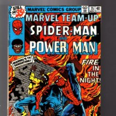 Cómics: MARVEL TEAM UP 75 FN+ 1978 / SPIDER-MAN & POWER-MAN / CHRIS CLAREMONT & JOHN BYRNE. Lote 181164443