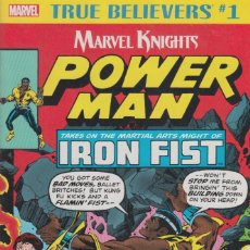 Comics : TRUE BELIEVERS: POWER-MAN AND IRON FIST (MARVEL,2018) # 1 - NM - CHRIS CLAREMONT - JOHN BYRNE. Lote 181168818
