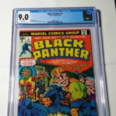 Cómics: COMIC USA BLACK PANTHER 1 CGC 9.0 WHITE PAGES. MARVEL 1977.. Lote 181211103