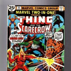 Cómics: MARVEL TWO IN ONE 18 VFN 1976 / THING & SCARECROW / BILL MANTLO & RON WILSON. Lote 181318447