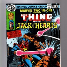 Cómics: MARVEL TWO IN ONE 48 VFN+ 1979 / THING & JACK OF HEARTS / BILL MANTLO & CHIC STONE. Lote 181460926