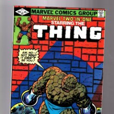 Cómics: MARVEL TWO IN ONE 91 - 1982 VFN/NM / THING & ... ? / DOCTOR STRANGE. Lote 181475090