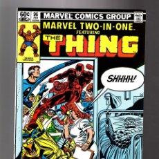 Cómics: MARVEL TWO IN ONE 96 - 1983 VFN- / THING. Lote 181484107