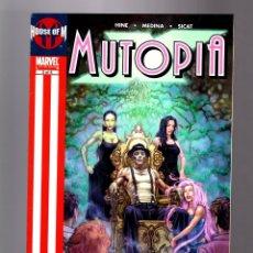 Cómics: MUTOPIA 2 - MARVEL 2005 VFN / X-MEN HOUSE OF M. Lote 181580557
