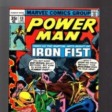 Cómics: POWER-MAN / LUKE CAGE HERO FOR HIRE 48 - MARVEL 1977 VFN / CLAREMONT & BYRNE / VS IRON FIST. Lote 181865735