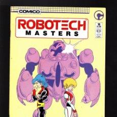 Cómics: ROBOTECH MASTERS 10 - COMICO 1986 VFN-. Lote 181980710