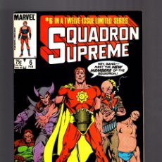 Cómics: SQUADRON SUPREME 6 - MARVEL 1986 VFN-. Lote 182067591