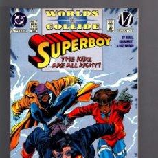 Cómics: SUPERBOY 7 - DC 1994 VFN / WORLDS COLLIDE MILESTONE. Lote 182072241