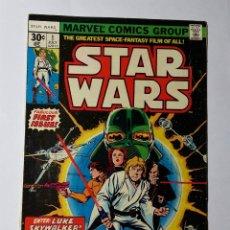 Cómics: STAR WARS 1 MARVEL 1977. COMIC USA STARWARS. NORMAL / BUEN ESTADO.. Lote 181221335