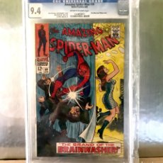 Cómics: COMIC USA AMAZING SPIDER-MAN 59 CGC 9.4 WHITE PAGES - MARY JANE SPIDERMAN MARVEL EEUU. Lote 182235126