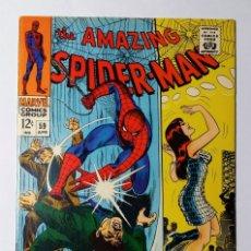Cómics: COMIC USA AMAZING SPIDER-MAN 59 EXCELENTE ESTADO + 388 COMO NUEVO GRATIS. SPIDERMAN. STAN LEE .. Lote 140526410
