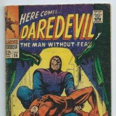 Cómics: DAREDEVIL Nº 36 (1968). ORIGINAL MARVEL. STAN LEE - GENE COLAN. ACEPTABLE ESTADO. Lote 182413706
