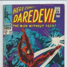 Cómics: DAREDEVIL Nº 39 (1968). ORIGINAL MARVEL. STAN LEE - GENE COLAN. ACEPTABLE ESTADO. Lote 182414206