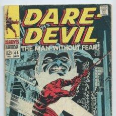 Cómics: DAREDEVIL Nº 44 (1968). ORIGINAL MARVEL. STAN LEE - GENE COLAN. BUEN ESTADO. Lote 182414328