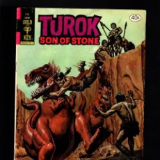 Cómics: TUROK SON OF STONE 125 - GOLK KEY 1980 VG. Lote 182500465
