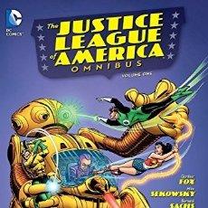 Cómics: JUSTICE LEAGUE OF AMERICA OMNIBUS VOLUME 1 HC (INGLÉS) TAPA DURA 2014 DC COMICS. Lote 182532021