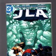 Cómics: JLA JUSTICE LEAGUE 75 - DC 2002 NM GIANT SIZE ANNIVERSARY / KELLY & MAHNKE / THE OBSIDIAN AGE. Lote 182568460
