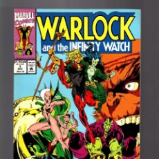 Comics : WARLOCK AND THE INFINITY WATCH 7 - MARVEL 1992 VFN/NM. Lote 182669383