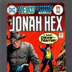 Cómics: WEIRD WESTERN TALES 29 JONAH HEX - DC 1975 VG/FN / ORIGIN . Lote 182670917