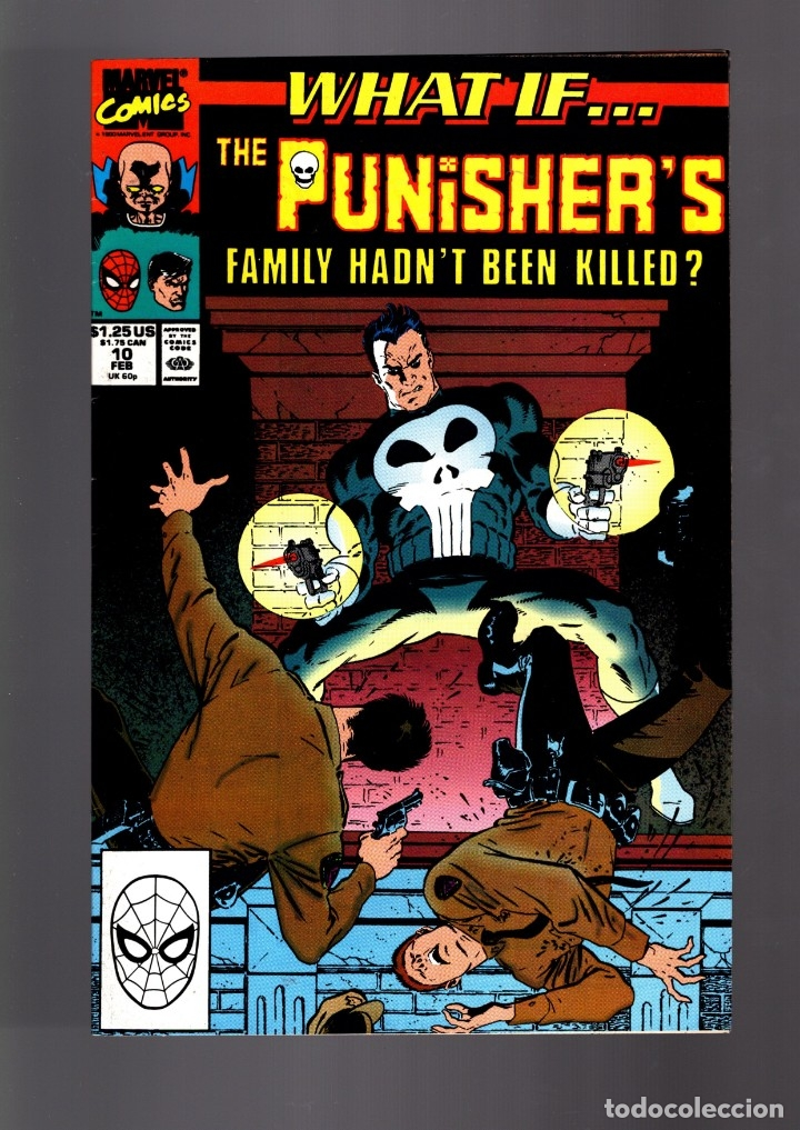 WHAT IF 10 PUNISHER FAMILY HADN'T BEEEN KILLED ? - MARVEL 1990 VFN (Tebeos y Comics - Comics Lengua Extranjera - Comics USA)